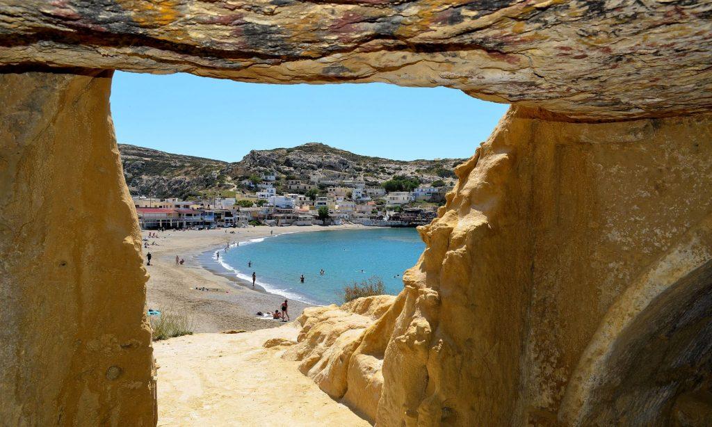 Matala south Crete