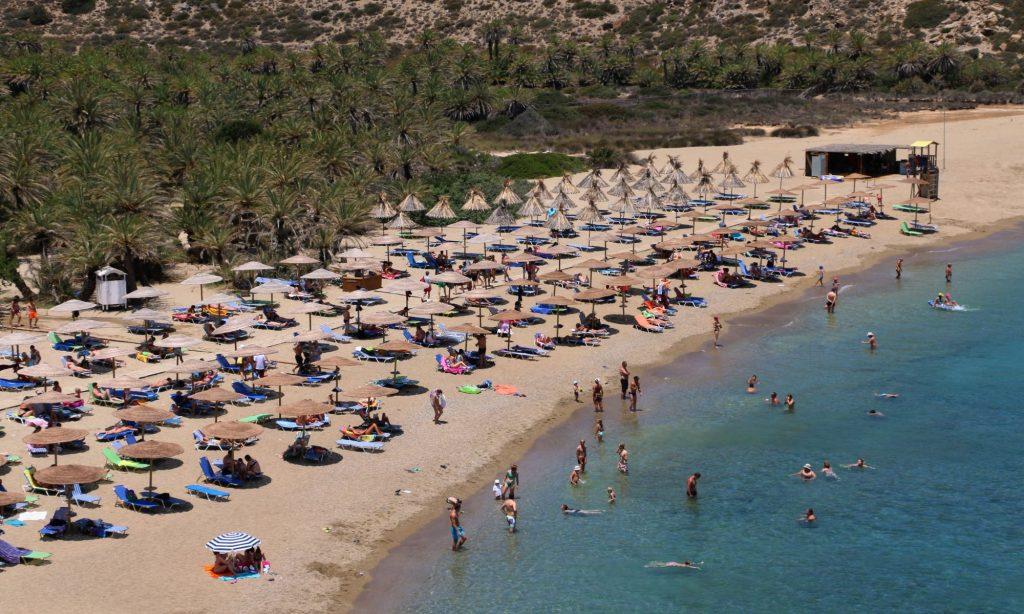 Vai, Palm tree beach East Crete
