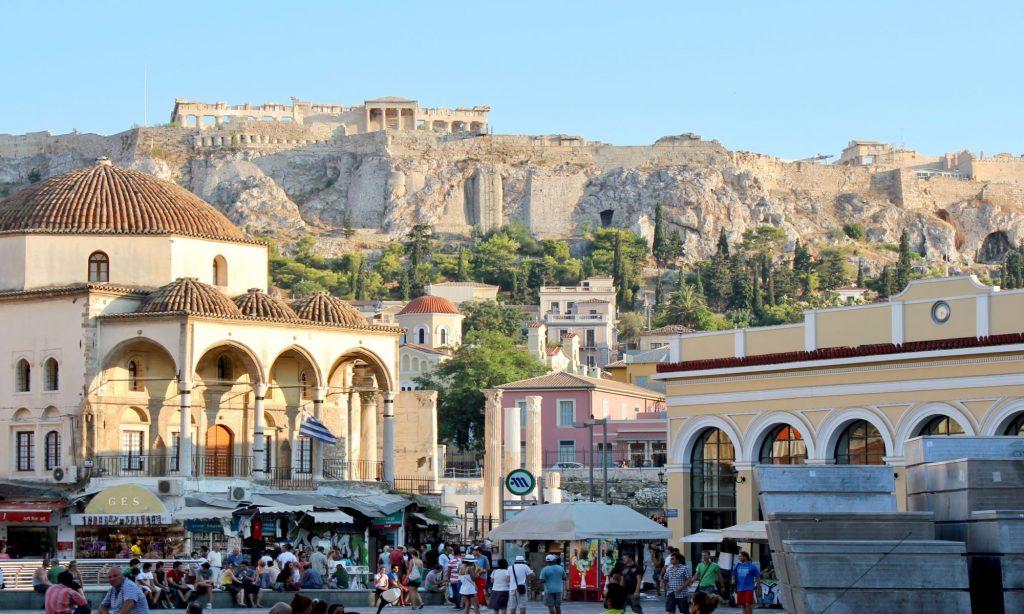 Monastiraki, for souvenirs