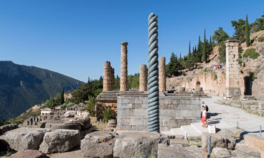 Delphi dedicated to Apollo