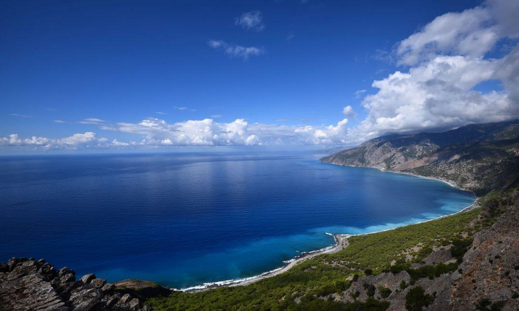 Amazing beach Crete